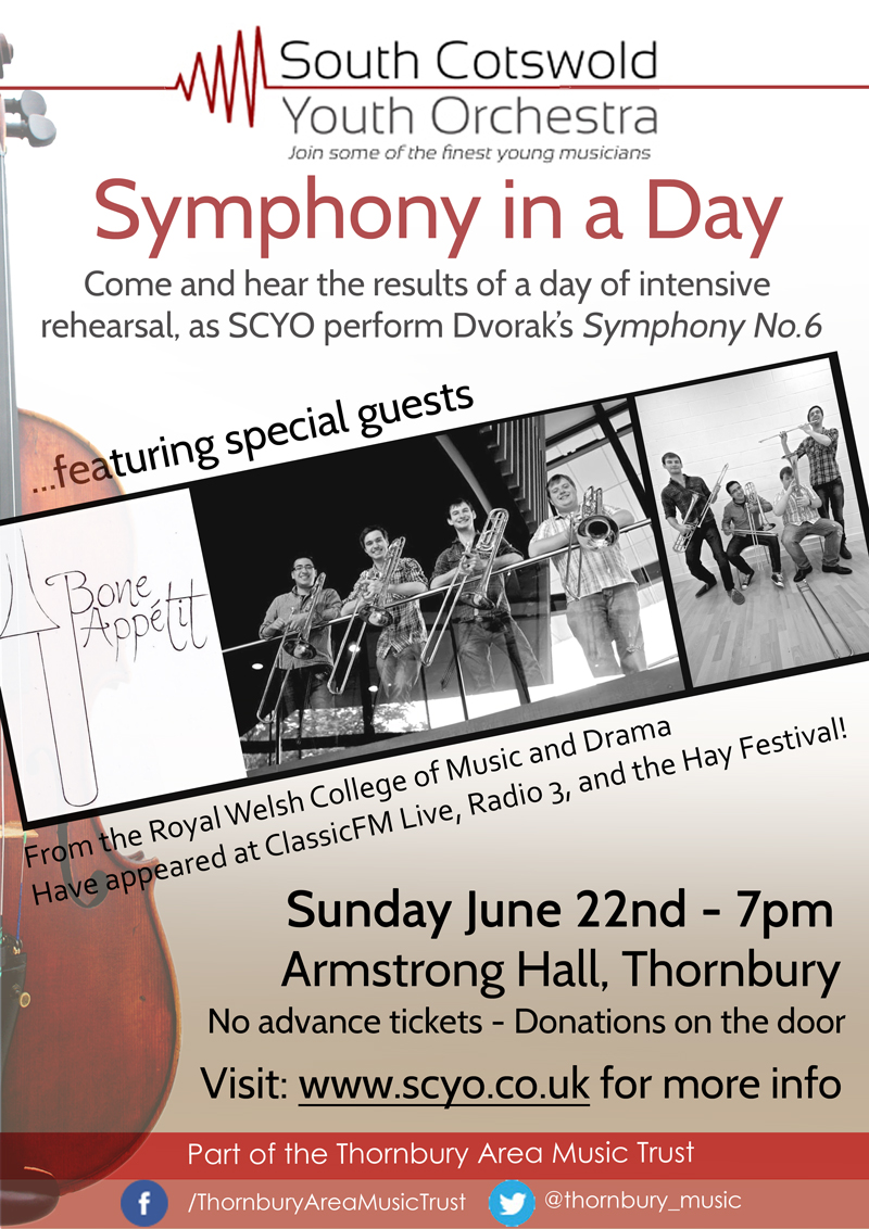 youth orchestra performance in thornbury, south gloucestershire